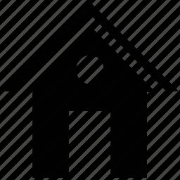 animal home, dog house, home, house icon