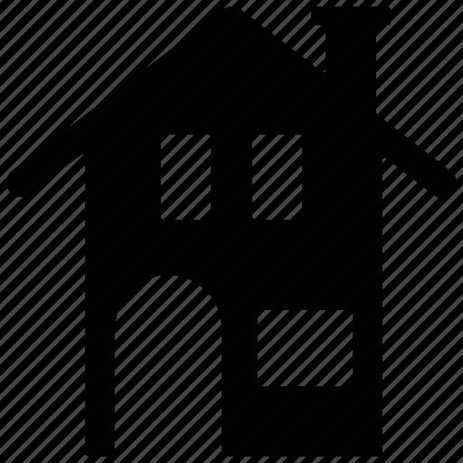 house, hut, shack, villa icon