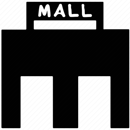 building, mall, shopping, shopping mall icon