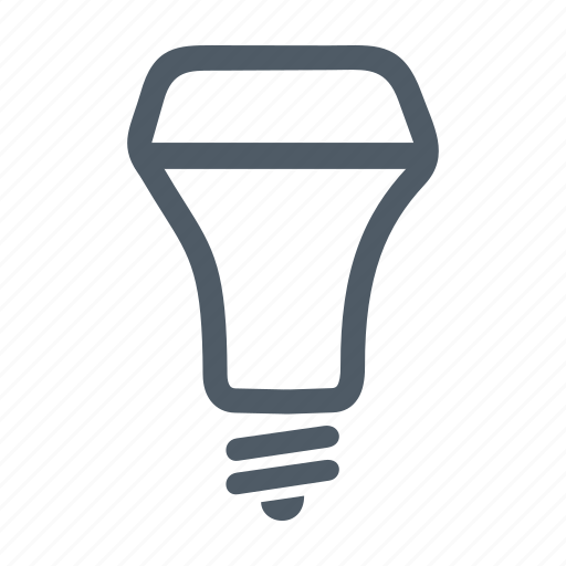 bulb, ecological, electric, lamp, led, light, lightbulb icon