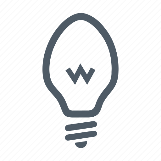 bulb, electric, electrical, electricity, lamp, lightbulb, power icon
