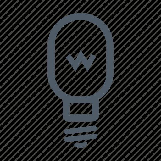bulb, electric, energy, illumination, lamp, lightbulb, power icon