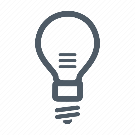 bulb, ecological, lamp, led, led lamp, lightbulb, technology icon