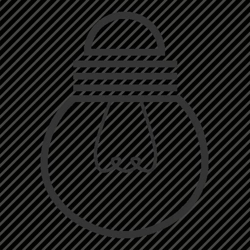 bulb, bulb icon, circular, graphics, round icon