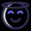 expression, emoji, halo, hope icon