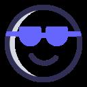emoji, face, eyeglasses, sunglasses