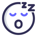 expression, emoji, sleeping, face icon