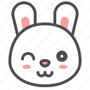 animal, avatar, rabbit, bunny, emoji