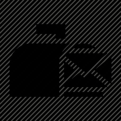 box, envelope, letter, mail, post icon