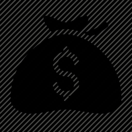 bag, coin, dollar, money, purchase icon