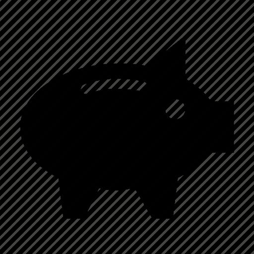 account, bank, piggy, protect, saving icon