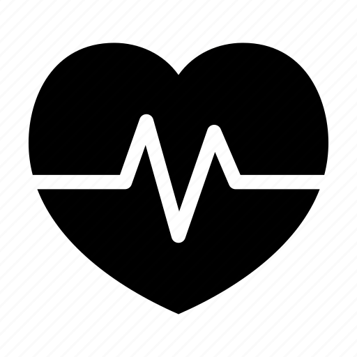 function, graph, heart, monitor, rate icon