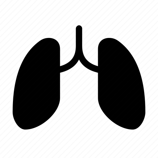 breath, cancer, lung, smoker, therapy icon