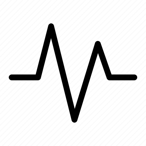check, graph, heart, pulse, rate icon