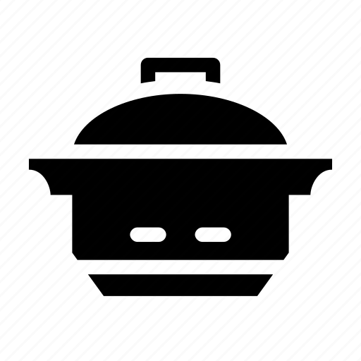 bowl, cook, jar, pressure, rice icon
