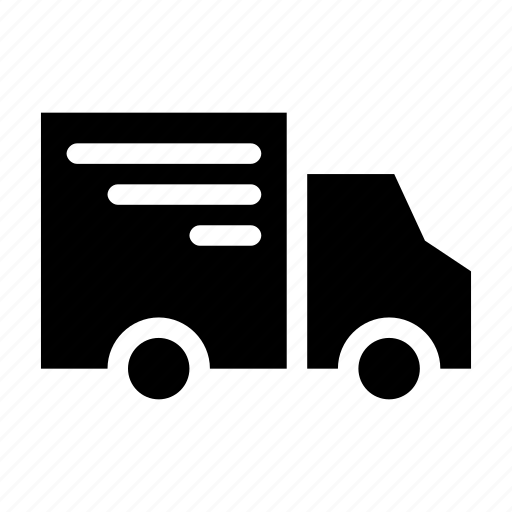 delivery car, mail, order, package, truck icon