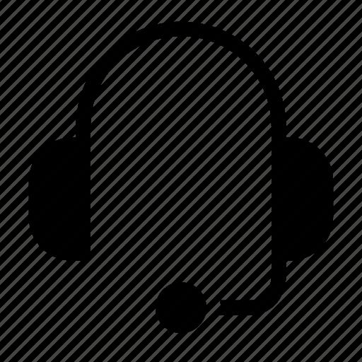 contact, earphone, earpiece, headphone, headset icon