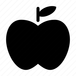 apple, diet, food, fresh, fruit icon