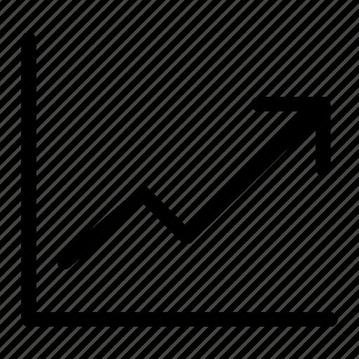 bar, chart, graph, presentation, progress icon