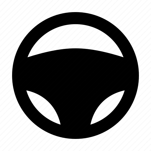 car, drive, driver, steering, wheel icon