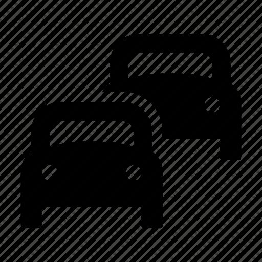 car, driveway, highway, jam, traffic icon
