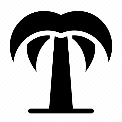 holiday, island, palm, summer, tree icon