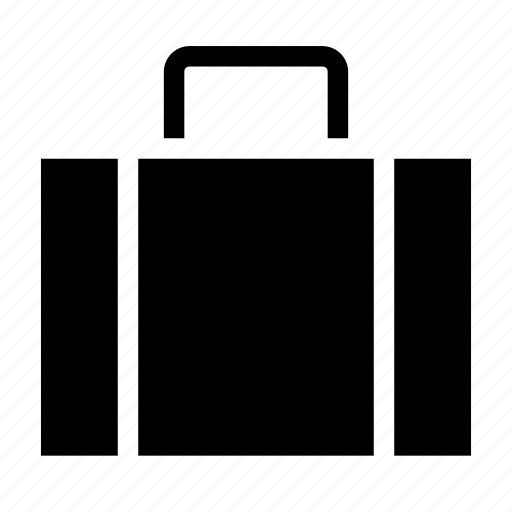 briefcase, carrier, compartment, office, suitcase icon