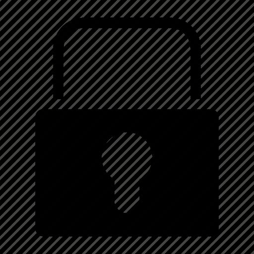locked, padlock, password, prevent, secure icon
