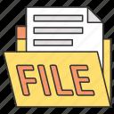 document, finance, work, money, business