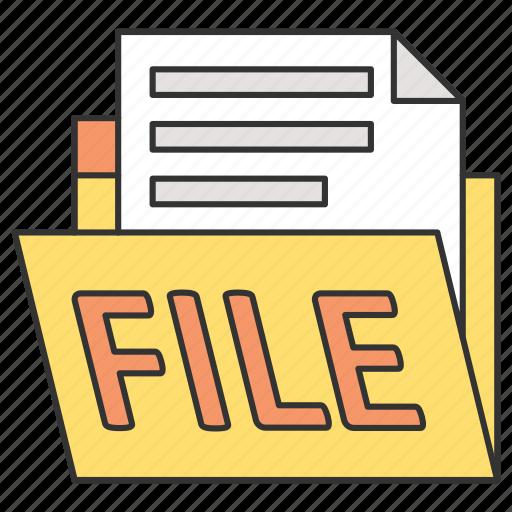 business, document, finance, money, work icon