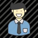 business, employee, finance, money, work icon