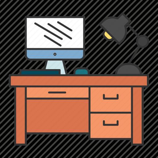 Business, desk, finance, office, work icon - Download on Iconfinder