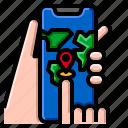 advertising, marketing, mobile, solomo, strategy icon