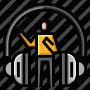 audio, media, podcast, radio, sound icon