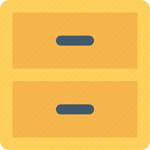 bureau, cabinets, drawers, filing cabinets, furniture icon