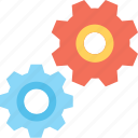 cogs, repair, cogwheel, gear, maintenance icon