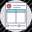 billing invoice, delivery invoice, invoice paper, invoice printing, invoice template icon