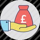 allowance, banking, lend, loan, money lending icon
