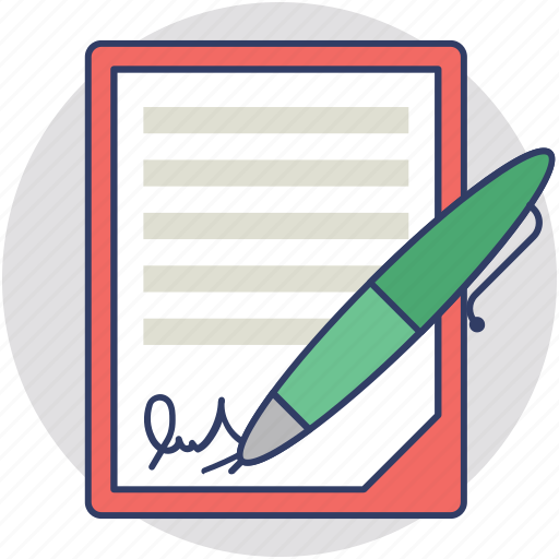 agreement, contract, job contract, payment plan, work contract icon