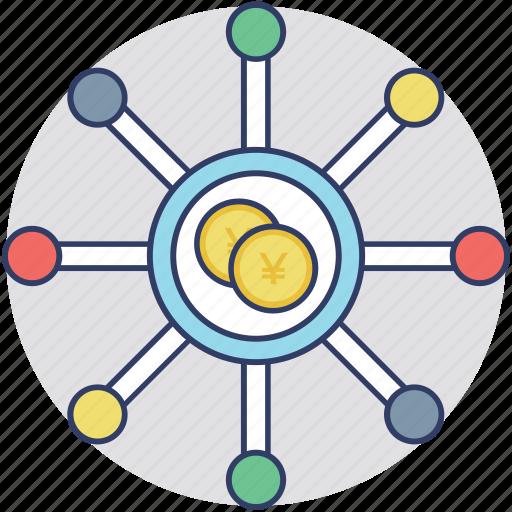 business profit, cash flow, earnings, revenue, revenue chart icon