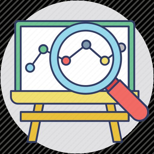 analytics and statistics, analyzing marketing, business intelligence, competitive market, market analytics icon