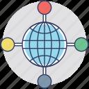 global business, import export, international business, international trade, worldwide business icon