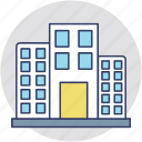 commercial building, company, head office, headquarter, office block icon