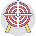 aims, ambitions, goals, intentions, targets icon