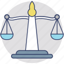 balance, balance scale, equality, level, scale icon