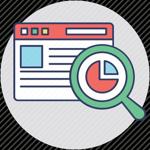 functional analysis, functional testing, seo performance, software development, web analysis icon