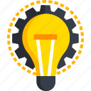 brainstorming, bulb, creative, creativity, idea, ideas, strategy icon