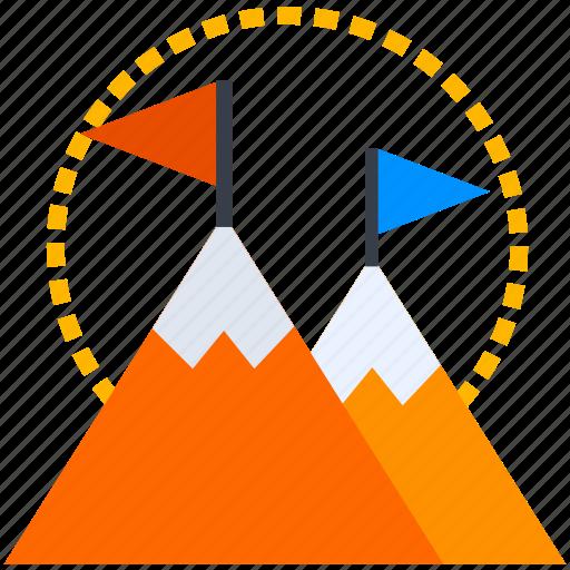 achievement, aim, bullseye, business, focus, goal, success icon