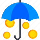insurance, protection, safety, security, shield, umbrella icon
