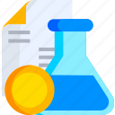 chemistry, experiment, lab, laboratory, science, test icon
